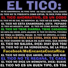 EL TICO | Ejemplos del español coloquial de Costa Rica #CostaRica #Tico
