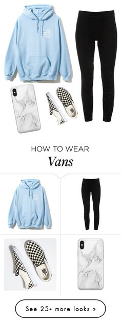 """lazy day"" by phori on Polyvore featuring Elie Tahari, Vans and Recover"