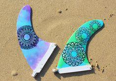 SUP Fin, Longboard fin, mandala fin, surfboard fin, custom fins, fin art, mandala art, surfboard fins, longboard fins