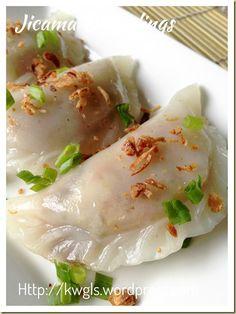 Jicama Dumplings