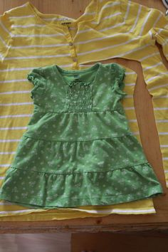 it's always autumn - itsalwaysautumn - Sew: Baby dress from women's shirt