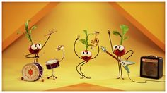 "Veggie Boogie: ""Rockin' Radishes,"" by StoryBots. So cute and weird!"