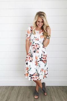 Summer Floral Dress | ROOLEE