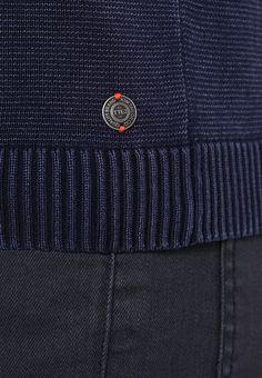 TOM TAILOR Pullover - knitted navy - ZALANDO.FR