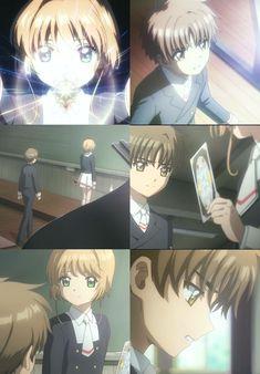 Cardcaptor Sakura Clear Card: The moment Syaoran never sense the new card... Darn!