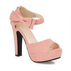 Charm Foot Fashion Bows Womens Platform High Heel Peep Toe Sandals (7, Pink) Charm Foot http://www.amazon.com/dp/B00JR657OM/ref=cm_sw_r_pi_dp_ljr9tb1MHE97Z