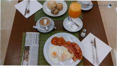 #Desayuno en Veracruz Plaza Hotel & Spa