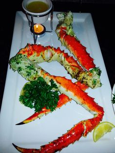 King Crab & Warm Garlic Butter