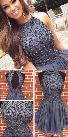 2017 Homecoming Dress Short Prom Dress For Teens BPD0021