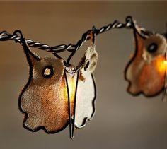 Burlap Owl String Lights - contemporary - outdoor lighting - Pottery Barn