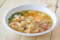 Cesnačka - spravovačka Soups And Stews, Cheeseburger Chowder, Salads, Recipies, Cooking Recipes, Baking, Ethnic Recipes, Ale, Food