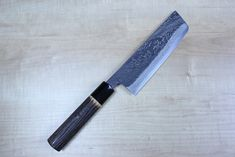 """Tsukasa Hinoura Custom Knife """"Unryu-Mon"""" Nakiri 165mm"""