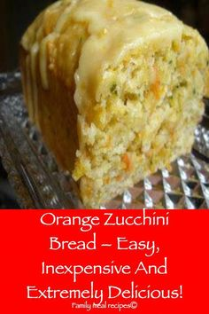 Orange Zucchini Bread – Easy, Inexpensive And Extremely Delicious! - Family meal recipes Orange Zucchini Bread – Easy, Inexpensive And Extremely Delicious! Meal Recipes, Cake Recipes, Dessert Recipes, Cooking Recipes, Pudding Recipes, Recipes Dinner, Healthy Recipes, Köstliche Desserts, Delicious Desserts