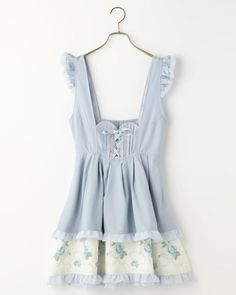 ハートローズプリントジャンスカ Liz Lisa, Kawaii Fashion, Dress Skirt, Gothic, Cute Outfits, Girly, Rompers, Skirts, Clothes