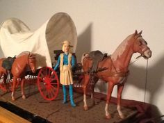Jane West doll and horse. The only doll I ever remember my sister playing with!