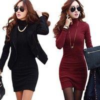 Gender:Women Waistline:Natural Fabric Type:Knitting Dresses Length:Above Knee, Mini Silhouette:Sheat