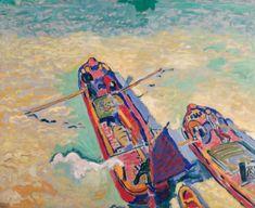 André Derain (1880-1954) Les Deux Péniches 1906, Londre Huile sur toile, 80 x 97 cm, AM-1972-1, Centre Pompidou, Paris. Andre Derain, Centre Pompidou Paris, Beauty In Art, Post Impressionism, Art Moderne, Museum Of Modern Art, Heart Art, National Museum, Book Photography