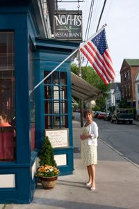 Noah's Restaurant ~ in the heart of historic Stonington Borough just seven miles east along the coast from downtown Mystic. 113 Water St, Stonington, CT 06378 Phone:(860) 535-3925