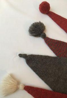 Christmas Stockings, Christmas Crafts, Christmas Inspiration, Kobe, Baby Knitting, Knit Crochet, Crochet Necklace, Ornaments, Hats