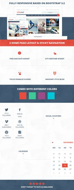 Site Templates - Globalnews - News & Magazine HTML5 Template | ThemeForest