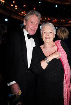 Judi Dench with boyfriend David Mills