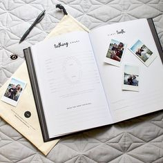 I have fallen in love with the most beautiful little keepsake a baby could ever have – a modern baby book with a touch of creative flair from @mylittlemilestones! Details up on the blog now. #littlelistofmine Falling In Love, Most Beautiful, Instagram Images, Chart, Touch, Photo And Video, Book, Creative, Modern