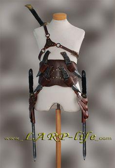 Assasin Schwerthalter Gürtel Schwert Leder Rüstung Assassin Asassin Schwertgurt | eBay I need one...