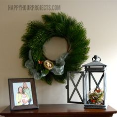 A Butterfly-Themed Spring Mantel from @happyhrprojects