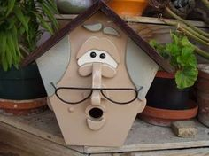 Grandma birdhouse