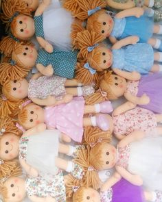 In a sea of Molly Dolly's  stocking up the shop pop in this week and check out all our fab new styles @kidstoredublin #linzyo #molldolly #handmadedollsclothes #mollydolly  #ragdoll
