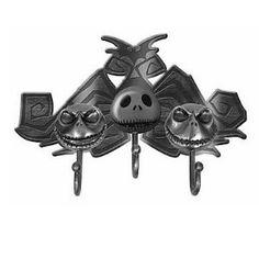 Neca Nightmare Before Christmas Metal Jack Head Key Hook