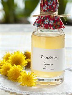 Slovenian Dandelion Syrup