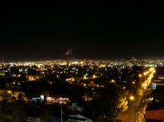 Chihuahua de noche  Skyline photography