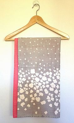 Stroller Blanket with Nani Iro Fabric.. love this color combo