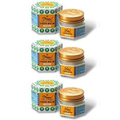 3 PIECES THAI MASSAGE WHITE RELIEF ITCHINESS COUNTER MUSCLE PAIN TIGER BALM 30g  Price:US $25.99  http://www.imuscletalk.com  #ebay #paypal #Thailandfantastic #PIECES #THAI #MASSAGE #WHITE #RELIEF #ITCHINESS #COUNTER #MUSCLE #PAIN #TIGER #BALM #