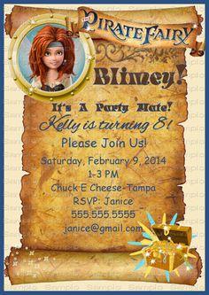 Hey, I found this really awesome Etsy listing at https://www.etsy.com/listing/179280250/pirate-fairy-zarina-disney-birthday-vip