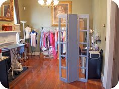 How to make a room divider from scrap wood!