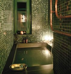 green marble hammam Photo 7 of 11 in Apartment XS by Project Architecture Company Dream Home Design, My Dream Home, House Design, Casa Jenner, Jenner House, Appartement New York, Bathroom Interior Design, Bathroom Designs, Bathroom Ideas