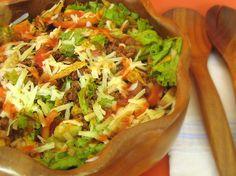 recipes for tacos images   Taco Salad Recipe   Microwave Recipes Cookbook