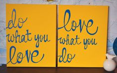 Inspirational Yellow or Any Color Canvas Wall Art by GoldenPaisley