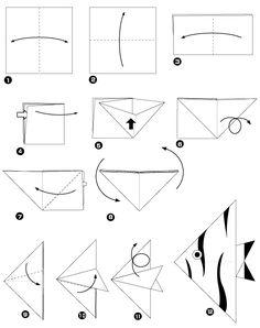 origami kuh basteln gelingt mit etwas bung jedem origami und basteln. Black Bedroom Furniture Sets. Home Design Ideas