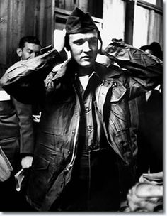 Elvis Presley at Fort Chaffee, Arkansas