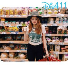 Photos: Debby Ryan In The Grocery Store January 24, 2014