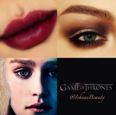 Game of Thrones Makeup by us!