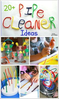 The best pipe cleaner crafts and activities for kids!