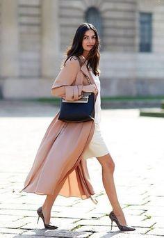 Look von Leila Yavari. Die passende Handtasche findest du bei uns: profibag.de