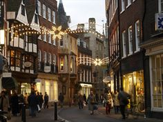 Cambridge during the holidays