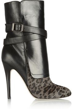 Shop for Leopard-print calf hair and nappa leather ankle boots by Jimmy Choo at ShopStyle. Now for Sold Out. Cute Shoes, Me Too Shoes, Sexy Stiefel, Zapatos Shoes, Women's Shoes, Shoes Sneakers, Pumps, Stilettos, Jimmy Choo Shoes