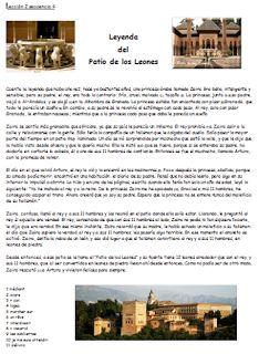 Les quichotteries de Delphine: Leyenda del Patio de los Leones - Granada