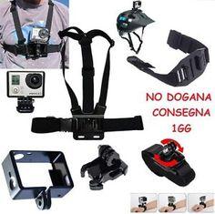 Full HD Sport Action Camera Foto Video Accessori gopro sjcam hero 3 4 wifi Cam